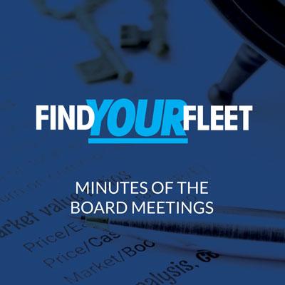 Fleet BID Board meeting minutes