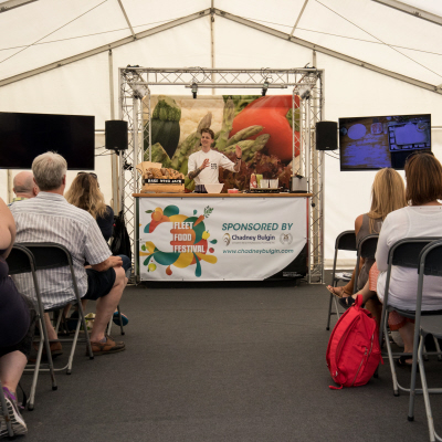 Fleet Food Festival Cookery Theatre