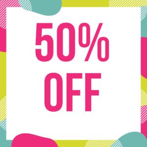 50% Off offers in Fleet
