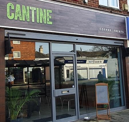 Cantine Dog Friendly Cafe Fleet Hampshire