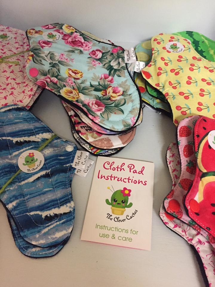 Cloth Sanitary towels from Scoop Fleet buy online