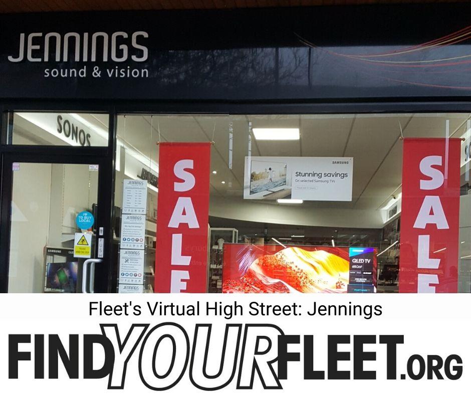 Fleet's virtual High Street Shop Online at Jennings