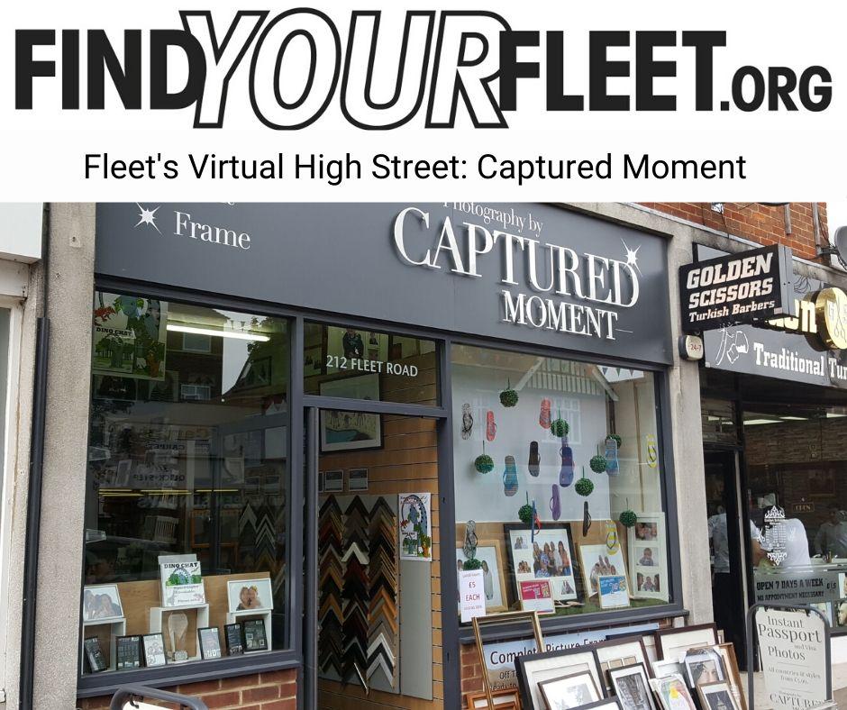 Fleet's Virtual High Street shop online at Captured Moment