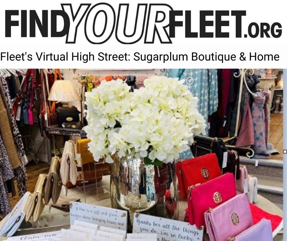 Virtual High Street Fleet Sugarplum Boutique & Home