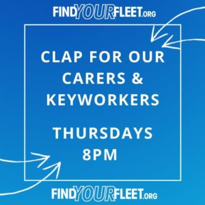 Fleet Clap for our Carers