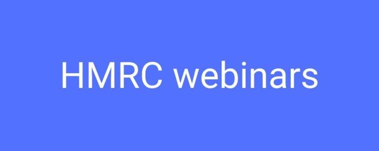 HMRC Webinars