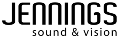 Jennings sound and vision logo