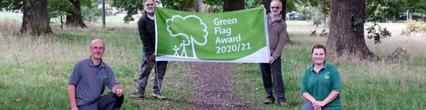 Green Flag Awards for Hart's Countryside Service