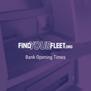 Bank opening times in Fleet