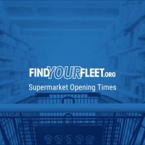 Supermarket opening times in Fleet