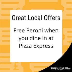 Pizza Express Fleet Offer