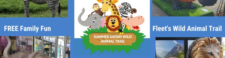 Summer holiday fun in Fleet – Fleet's Wild Animal Summer Safari