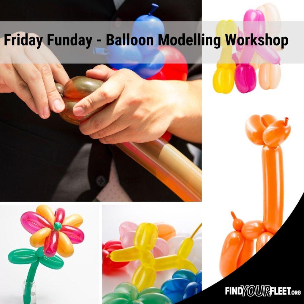 Balloon Modelling workshop