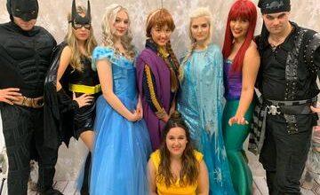 TillyBear Princess and Superhero Meet and Greet @ Fleet Hub  Day 2